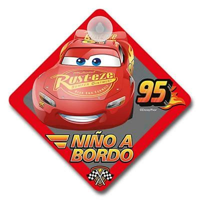 Cars Disney111 - Cancello bambino a bordo CARS Disney per auto