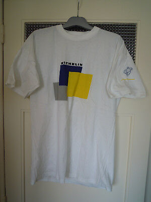 Rare / T- Shirt : Michelin / Taille Size Xl - 100 % Coton Cotton / Comme Neuf