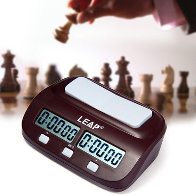 LEAP Digital Chess Clock Count Up Down Timer I-Go/Chinese/International Chess CA