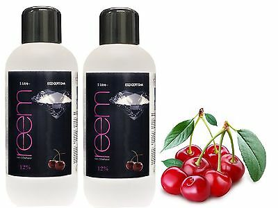 Reem Pro Tanning Solution 2 x 1 Litre 12% Cherry Fake Tan SPECIAL OFFER