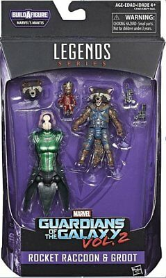 Marvel Legends Guardian of the Galaxy Vol 2 Rocket Raccoon and Groot Figure