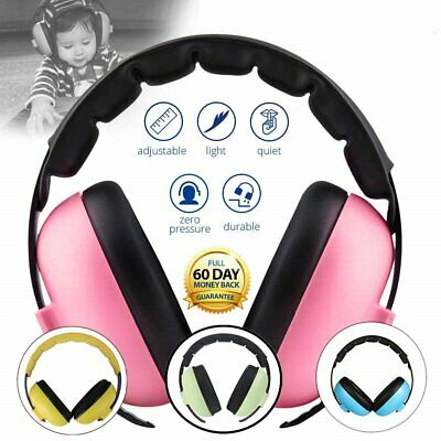 Kids Hearing Ear Protection Safety Muffs Noise Cancelling Headphones Child Baby