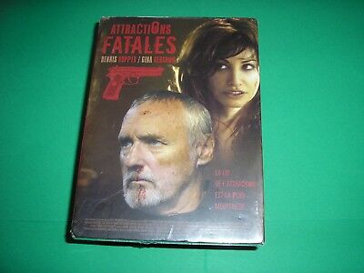"""DVD neuf sous blister,""""ATTRACTIONS FATALES"""",dennis hopper,gina gershon"""