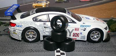 1/32 PAULGAGE SLOT CAR TIRES 2pr PGT-21126XXD fit CARRERA BMW M3 GT2