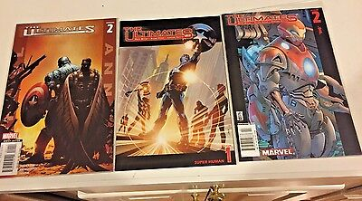 Ultimates (2002 1st Series) #1-13 and Annual #2,  Marvel comic complete