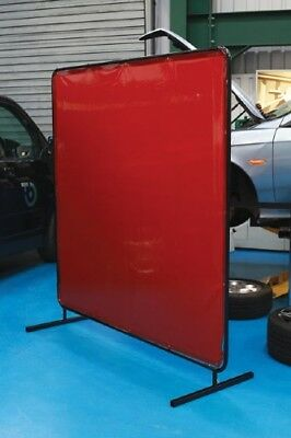 Thick Vinyl With Filters - Welding Screen Curtain With Frame 1.74 x 2.34m