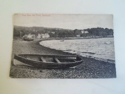 GARELOCH, ROW FROM THE POINT, Pub. The Post Office, Row, Gareloch  §B2097