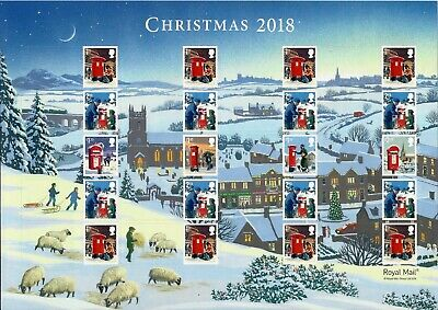 Gb 2018 Mint Christmas Presentation Pack 563 Stamps Booklet Minisheet Smiler