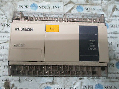 Mitsubishi FX1N-40MR-001 Melsec Programmable Controller 85-264VAC *Fully Tested*
