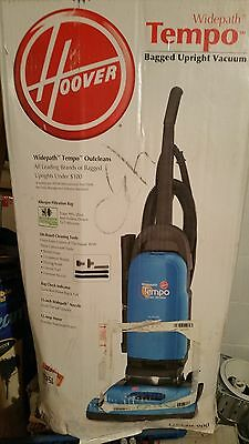 Hoover Tempo Upright Vacuum Cleaner U5140900 Blue