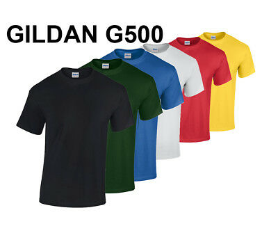 Gildan G500 Blank T-Shirt---Brand New---Various Sizes, Colors and Quantities