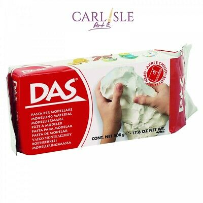 DAS Air Drying Modelling Clay 1kg Wht