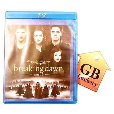Blu-ray Movie - Breaking Dawn Part 2 - Teen Romance with Love -  Sci-Fi & Fantas