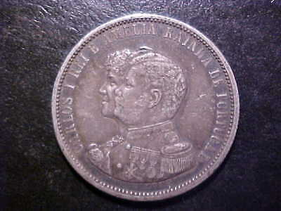 1898 Portugal Silver 1000 Reis 400th Anniversary of Discovery of India