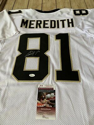 Cameron Meredith Autographed Signed Jersey JSA COA New Orleans Saints Cam ad169ce63