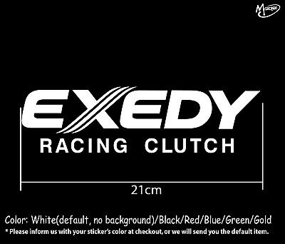 Exedy Stickers Reflective Car Parts Decals 21cm Business Signs Best Gifts