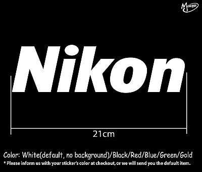 Nikon Stickers Reflective  Decals 21cm Business Signs Best Gifts