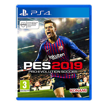 PES 2019 PS4 Game (Pro Evolution Soccer) | New & Sealed | Fast & Free Delivery !