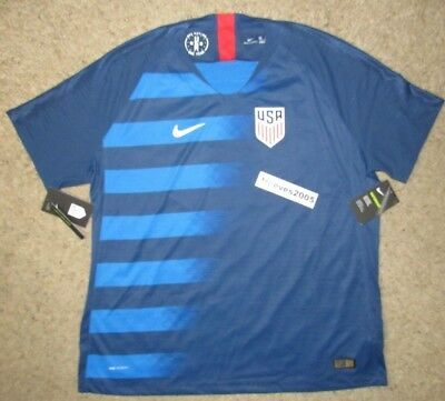 043e880f6 NWT NIKE USA AWAY 2015 16 US SOCCER TEAM JERSEY Men s Sz. Medium 100 ...