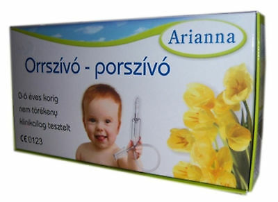 Baby Vac Nose Nasal Aspirator Infants Children Arianna Suctioning Device