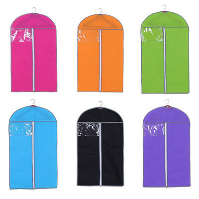 1Pc Garment Cover Dust-proof Storage Bag Clothes Cover For Formal Dress Garment~