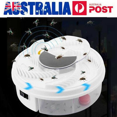 AU Electric USB Automatic Flycatcher Fly Trap Mosquito Reject Control Catche
