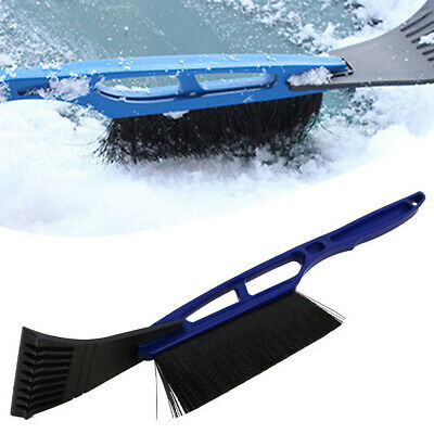 Car Vehicle Durable Snow Ice Scraper Snow Brush Shovel Removal For Winter Blue