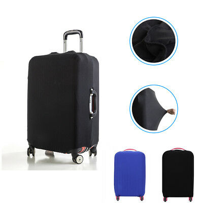 "20-28"" Elastic Solid Luggage Cover Travel Suitcase Protector Dust-proof Cover"