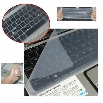 Clear Universal Silicone Protective Keyboard Cover Skin Laptop PC Notebook 15""