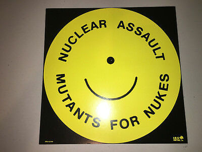 Nuclear Assault Thrash metal Survive Double Sided Promo Flat LITHOGRAPH POSTER