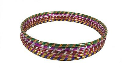 New Multicolour Glitter Children Adult Hula Hoop Polypro Indoor Outdoor Fitness