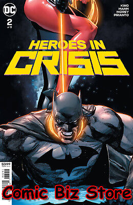 Heroes In Crisis #2 (Of 7) (2018) 1St Printing Mann Main Cover Dc Universe