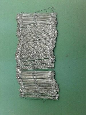 """Heddles 21.5 cms long   8.1/2""""   wire for weaving looms Bundles of 500 New"""