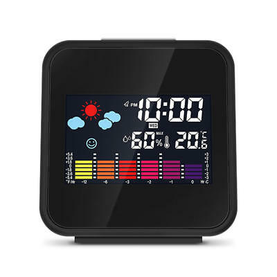 Digital Mini Wireless Weather Station Colour USB Hygrometer Humidity Thermometer