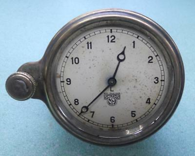 Vintage Smiths 8 Day Car Clock, Just Serviced and keeping good time