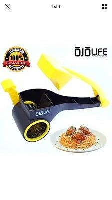 Graters Restaurant Quality Rotary Cheese Grater Shredder - Multi Use - Razor - -