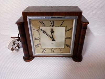 1950's Smiths sectric electric clock art deco mantle clock smith mantel clock