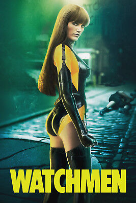 Watchmen 1 Movie Poster Canvas Picture Art Print Premium Quality A0- A4