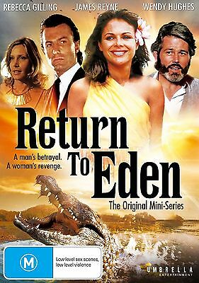 Return To Eden The Original Miniseries  -  Dvd - Region 4 - Sealed