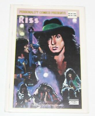 KISS #2 - The Unauthorzied Biography 2A - 1992 Personality Comics Rock & Roll