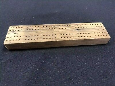 Reclaimed Wood Cribbage Board