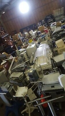 Large lot of miscellaneous medical equipment and carts MAKE US A FAIR OFFER!