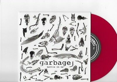 "GARBAGE Battle In Me RSD Limited Edition 500 Color Red Vinyl 7"" Shirley Manson"
