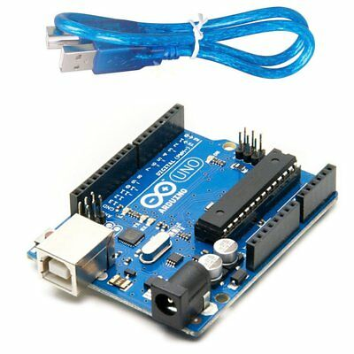 Arduino UNO R3 - USB Cable - Sealed Retail Unit - Genuine - Ships From USA
