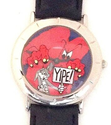 Gossamer Scaring Bugs Bunny 3-D Look Dial Warner Bros Collectible Watch