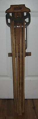 Antique Hopkins Perfection Clothes Drier Old Vintage Drying Rack Wall Mount Nice