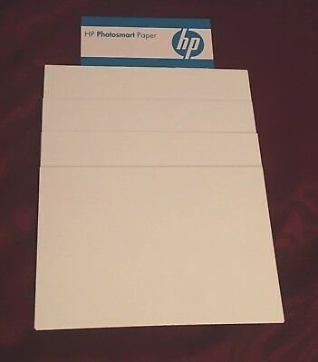 HP 6x4 White Gloss Photo Paper 230/240gsm.50 Sheets Per Batch