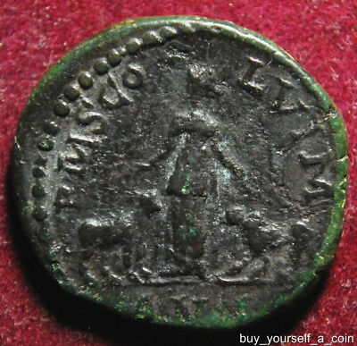 Gordian III AE20 as of Viminacium in Moesia Superior, PMS CO-L VIM/AN.I. , 239AD