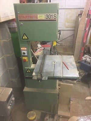 "Startrite 301, Single Phase, 8"" Cutting Depth"