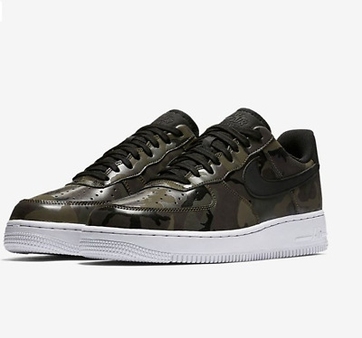 Mens Boys Nike Air Force 1 '07 Low Camo SNEAKERS 823511-201  NEW  SIZE 7
